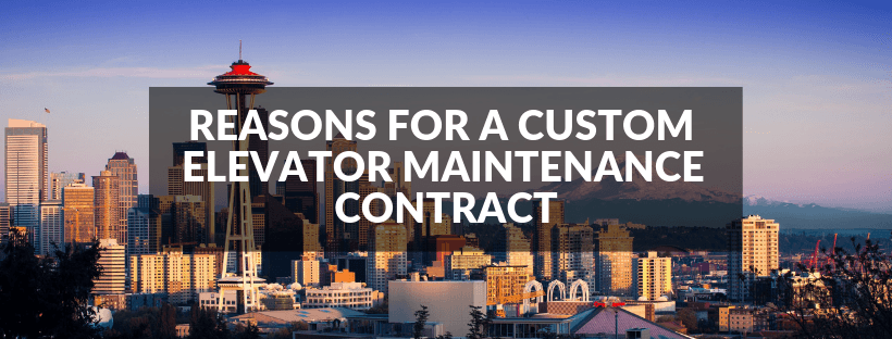 Custom Elevator Maintenance Contract
