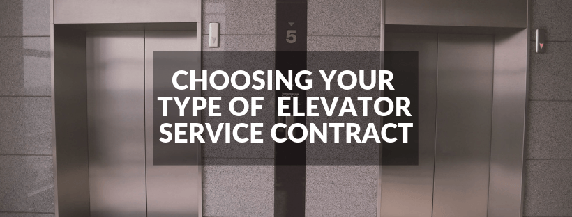 How to Pick the Best Elevator Service Contract Type